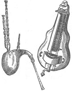 Säckpipa och vevlira